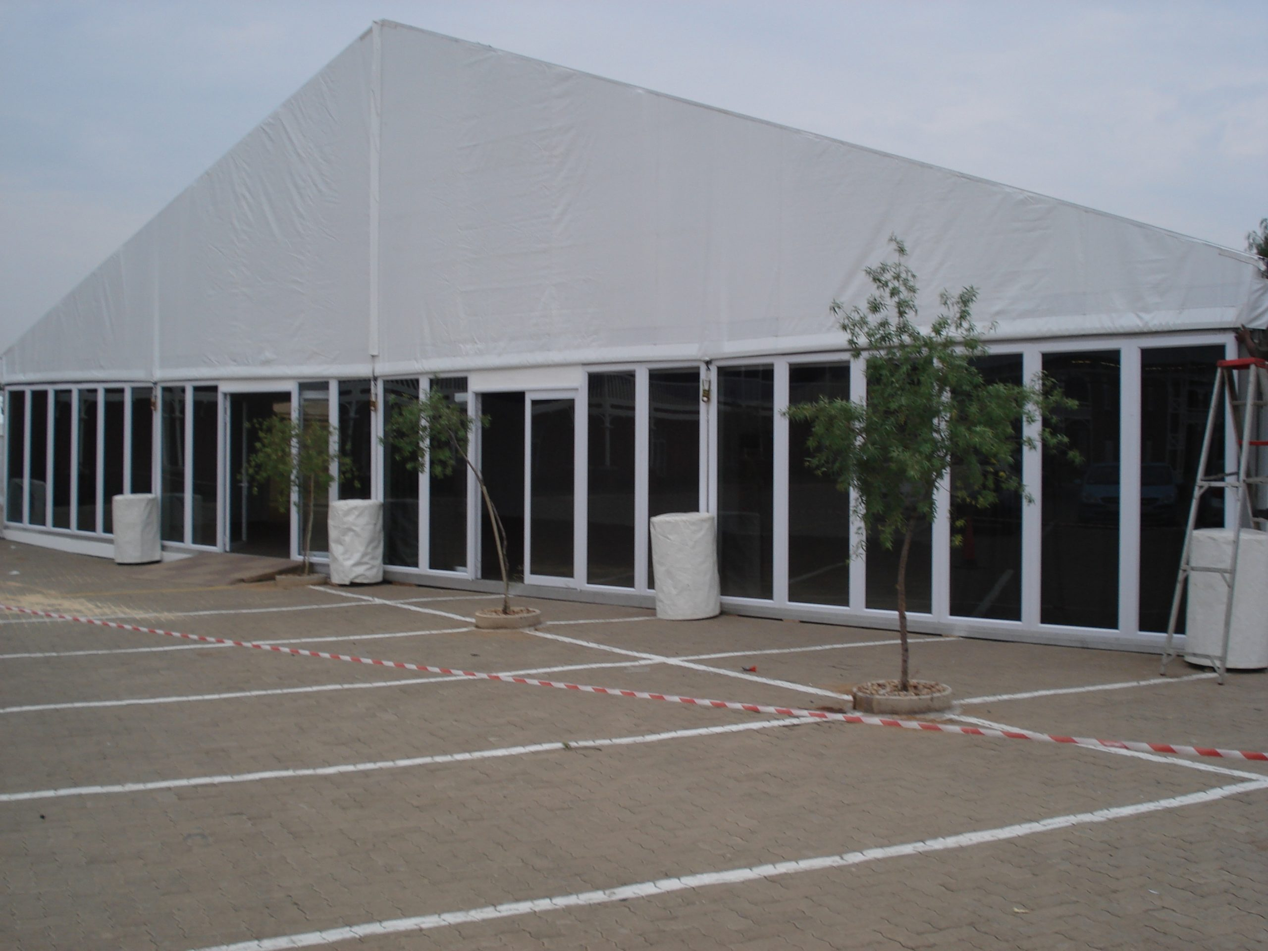 20m Clearspan - Glass